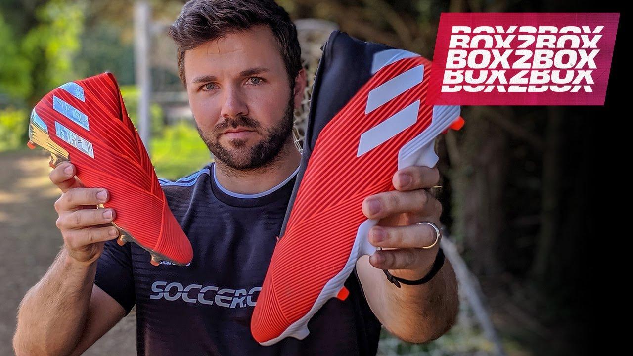 adc42a549544 Laceless adidas Nemeziz 19.3 Review - Box2Box Soccer Cleat Reviews ...