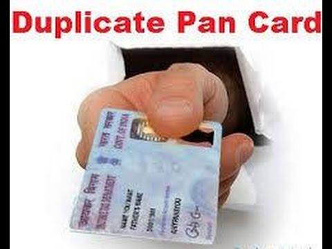 Image result for duplicate pan card