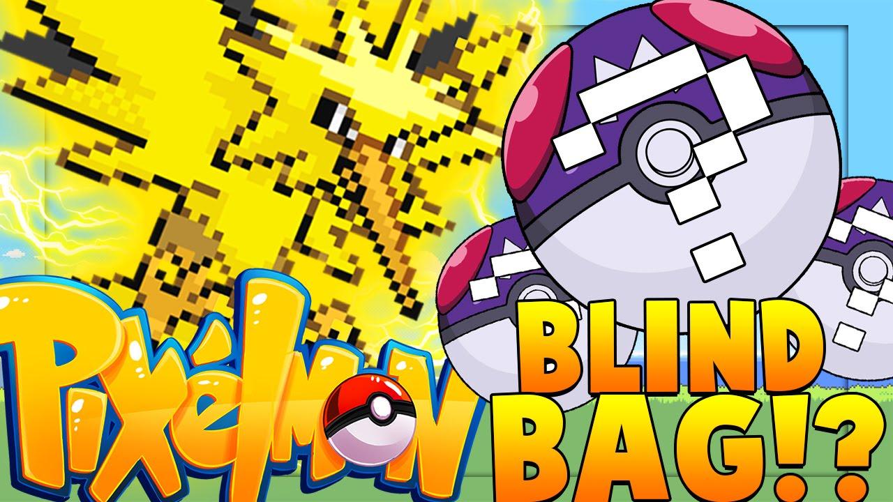 PIXELMON BLIND BAG Challenge   Minecraft - Pixelmon Mod Battle   JeromeASF