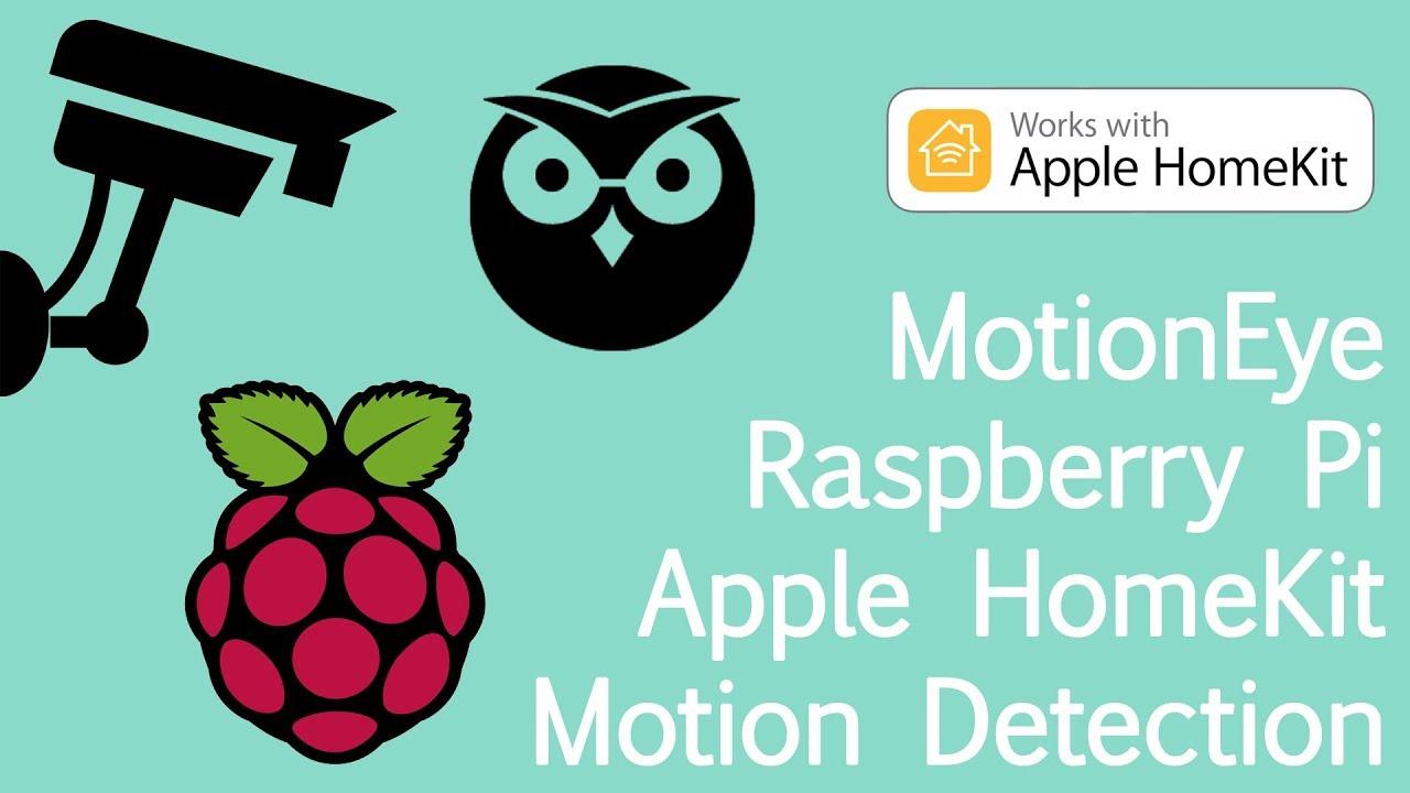 TUTORIAL: MotionEye Motion Detection in Apple HomeKit | Coding Videos