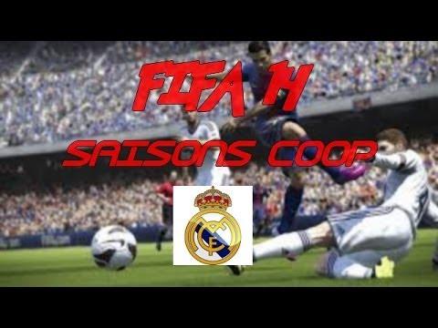 FIFA 14 : Saisons Coop #1 REAL DE MADRID !