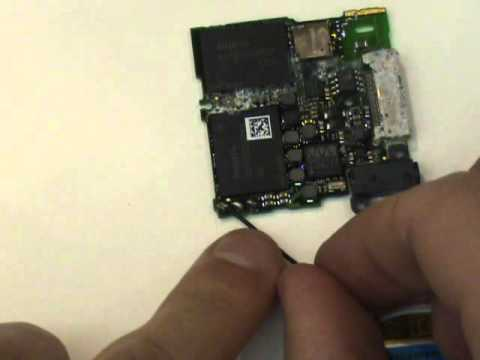 Zune HD Battery Replacement Repair Tutorial Soldering | GadgetMenders.com