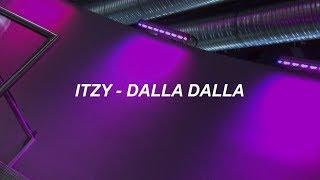 "Download ITZY ""달라달라(DALLA DALLA)"" Easy Lyrics Mp3"