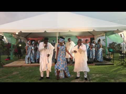 AGC @ Government house, St. Kitts
