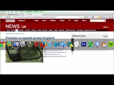 020 CSS Project BBC News Website 5