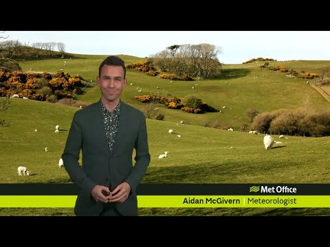 Friday afternoon forecast 22/02/19