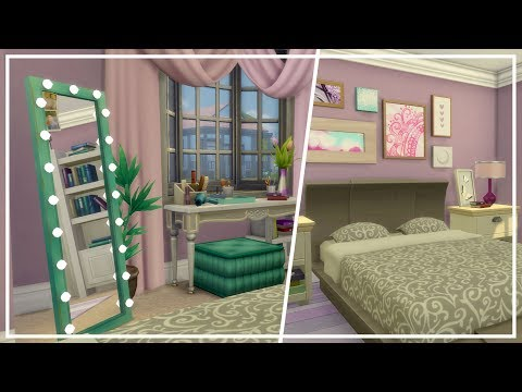 Tumblr Girl Bedroom // The Sims 4: Room Build