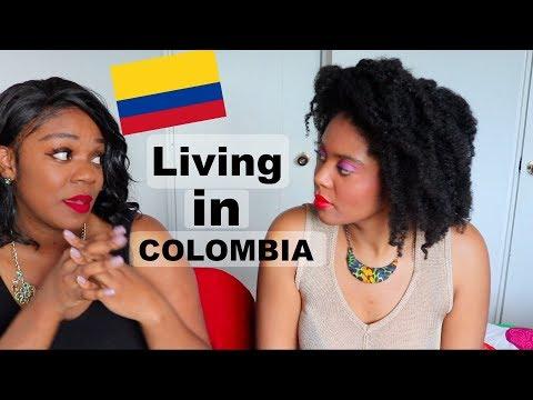 Black American Woman Living in Colombia   La cultura, comida, trabajando, mentiras y mas!