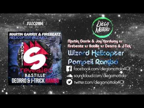 Wizard vs Helicopter vs Pompeii vs Rambo (Martin Garrix Mashup) (UMF 2015)