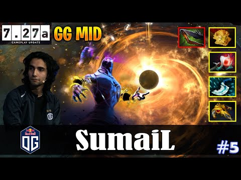 SumaiL - Enigma   GG MID   Dota 2 Pro MMR Gameplay #5