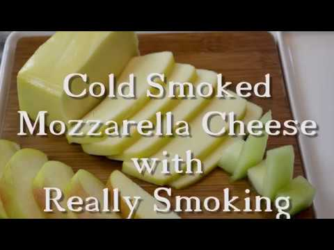 Cold Smoked Mozzarella Cheese with Really Smoking