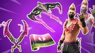 Fortnite NEW Summer Drift Skin, Dual Edge Pickaxe, Driftstream Glider!