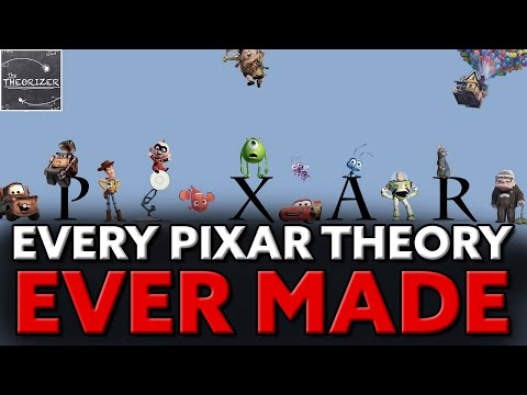 Every Pixar Theory EVER Made and How They ALL CONNECT! [COMPILED THEORY]