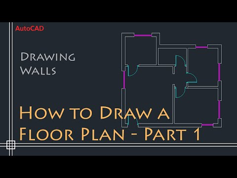 autocad-2d-basics---tutorial-to-draw-a-simple-floor-plan-(fast-and-efective!)-part-1