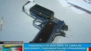 BP: Pagdadala Ng Mga Baril Sa Labas Ng Mga Bahay, Pansamantalang Ipinagbawal Sa Pangasinan