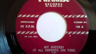 HARPTONES - MY SUCCESS (IT ALL DEPENDS ON YOU) - PARADISE 103