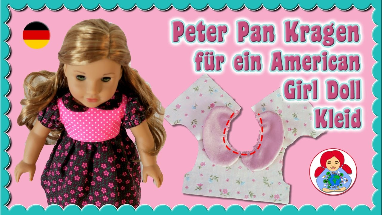 Anleitung kleid mit peter pan kragen