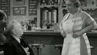 W.C. Fields - The Diner Sketch