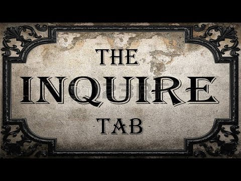The Inquire Tab