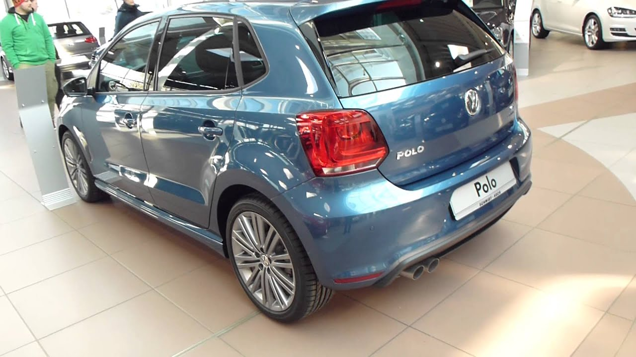 2013 vw polo blue gt 1 4 tsi 210 km h 130 mph see also playlist youtube. Black Bedroom Furniture Sets. Home Design Ideas
