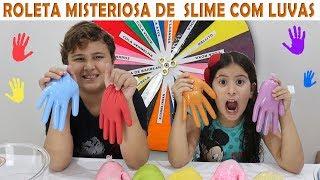 DESAFIO DA ROLETA MISTERIOSA DE SLIME ★ MYSTERY WHEEL OF SLIME CHALLENGE thumbnail