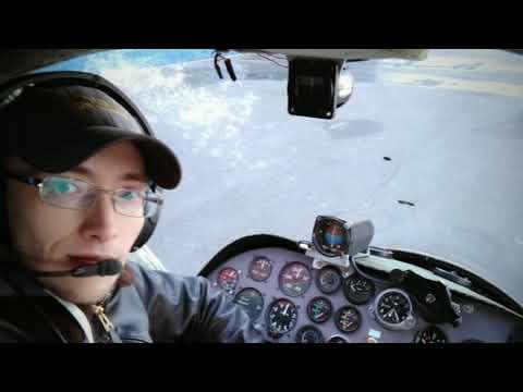 Обучение на самолёте Птенец-2.