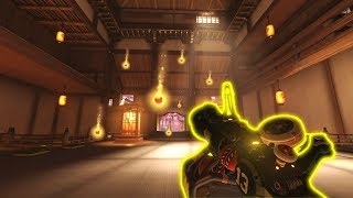 RARE Impossible Junkrat Bomb..?! - Overwatch Impossible Moments