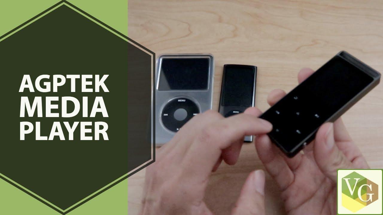 Cheap Ipod Alternative Agptek 16gb Media Player Youtube