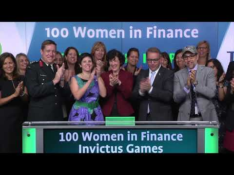 100 Women in Finance and the Invictus Games open the market, September 22, 2017