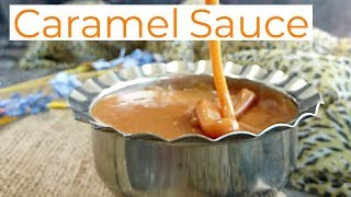 Caramel Sauce Recipe | homemade salted caramel sauce recipe | how to make salted caramel sauce