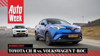 Volkswagen T-Roc vs Toyota C-HR - AutoWeek Dubbeltest - English subtitles