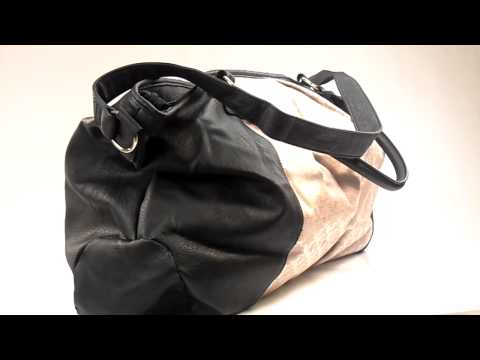 Friis Company Weekend Bag Malibu Black Shop Online- www.onlinsneakershop.nl
