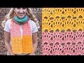 How to Crochet Sea Shell Scarf - DIY Tutorial - Seashell Shells Scarves Bufanda