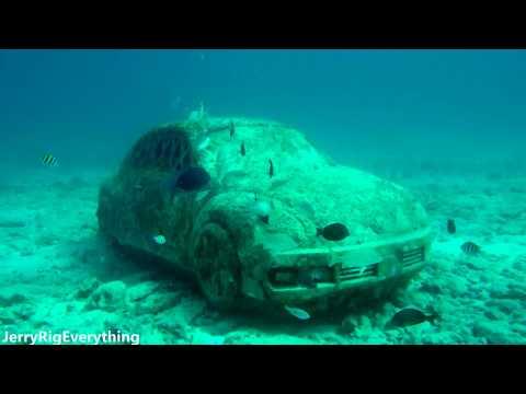 Underwater Museum in Isla De Las mujeres, near Cancun in 4K | PowerRay underwater Drone