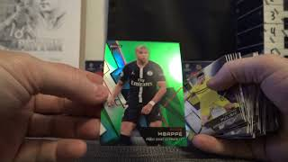 2018/19 Topps UEFA Champions League Soccer 4 Box 1/2 Case 'Serial #s' GB # 4 Part 1/2