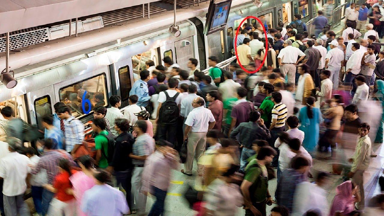 Image result for lovers on delhi metro station
