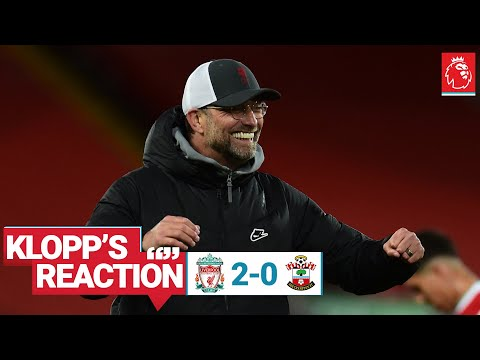 Klopp's Reaction: 'We did a really good job' | Liverpool vs Southampton