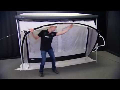 Thule QuickFit Tent Room. How to Setup - YouTube