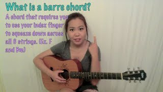 TMT #4: How T๐ Practice / Play Barre Chords