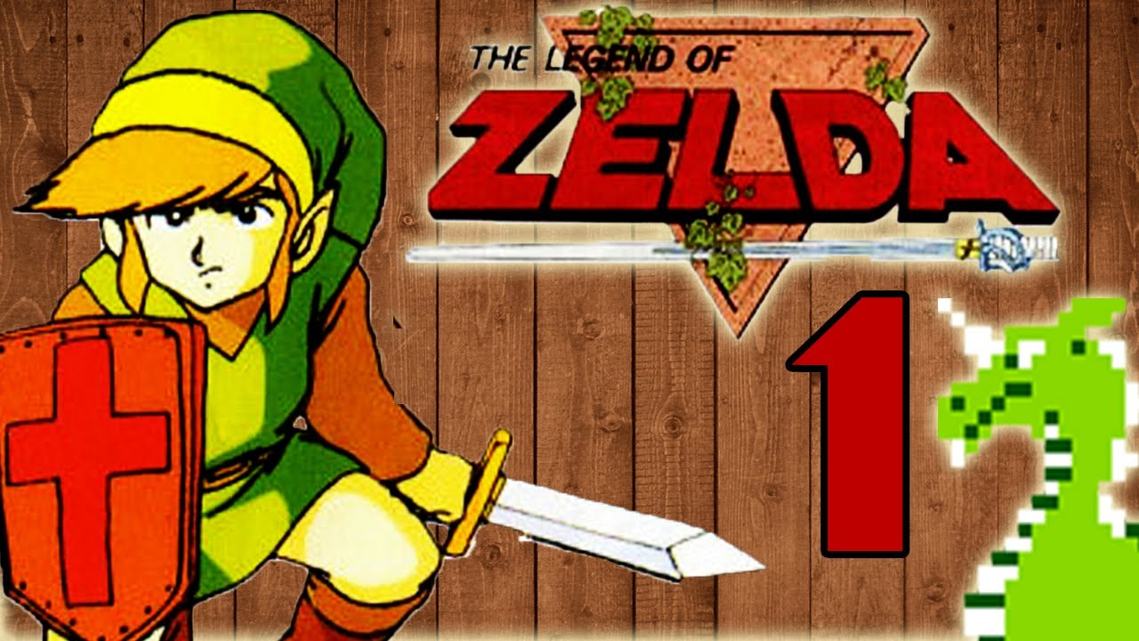 Lets Play The Legend of Zelda Part 1 Game Over  YouTube