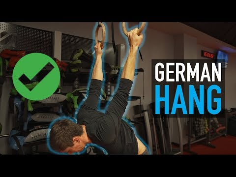 The German Hang Stretch   Do It Right!