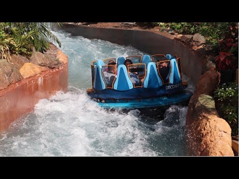 Infinity Falls at SeaWorld Orlando: tallest drop on a river