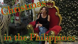 CHRISTMAS IN THE PHILIPPINES! EP.1 SHOPPING IN FILIPINO MALLS!