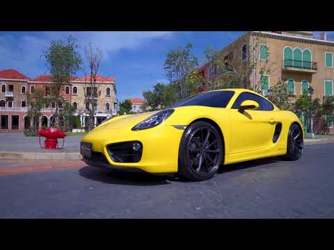 HITz SuperCar Porsche Cayman 981 with FI Exhaust & STR Forged Wheel
