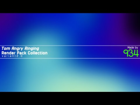 Tom Angry Ringing Render Pack Collection V2