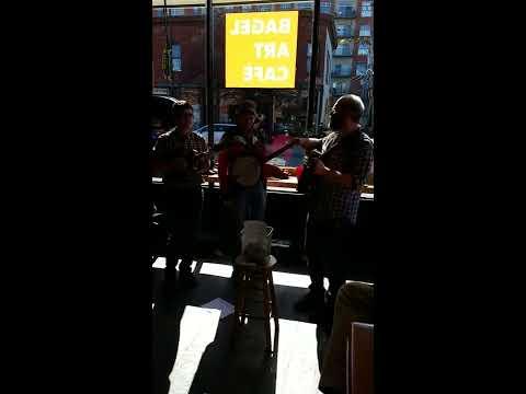 Hot Bluegrass Live Bagels at Bagel Art Cafe, Evanston IL, Feb 11 2017