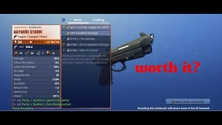HAYWIRE STORM? IS IT WORTH IT? (Fortnite Save The World)