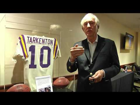 Fran Tarkenton Recalls his first game in the NFL