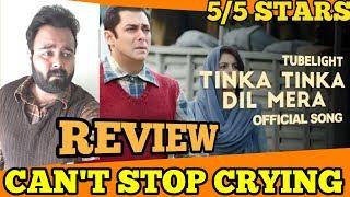Tubelight - Tinka Tinka Dil Mera | Reaction | Review | Salman Khan | Sohail Khan