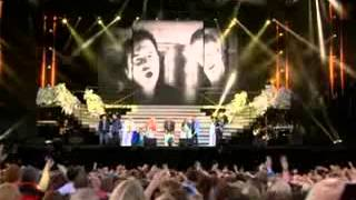 Westlife and Family at Croke Park June 22, 2012